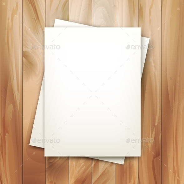 Vector Note Sheets of Paper - Abstract Conceptual