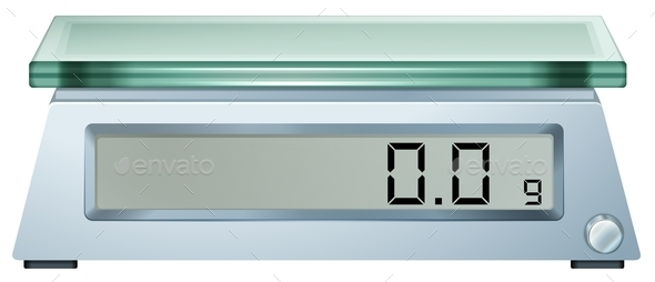 Dgital Weighing Scale - Man-made Objects Objects