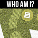 """Who am I"" - Business Card - GraphicRiver Item for Sale"