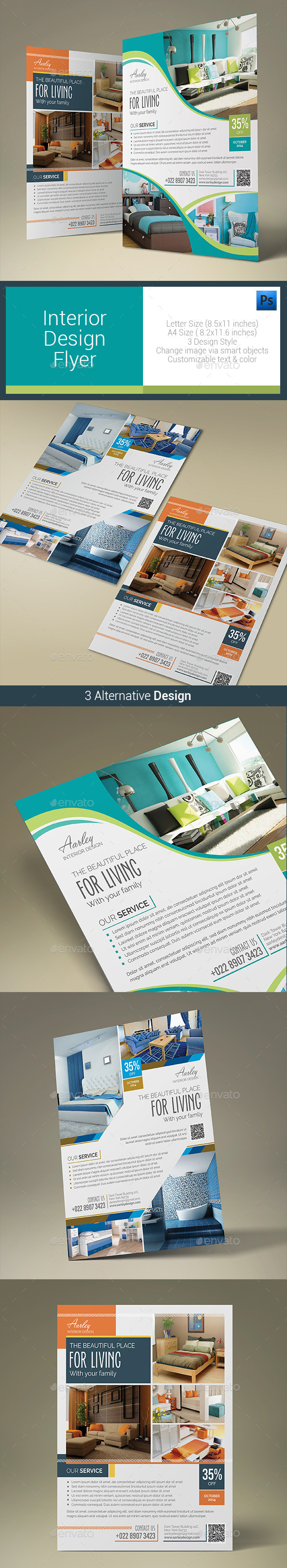 Interior Design Flyer - Corporate Flyers