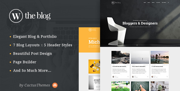 TheBlog - Multi Concept Blog & Portfolio - Blog / Magazine WordPress