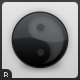 Glossy Yin Yang Icons - GraphicRiver Item for Sale