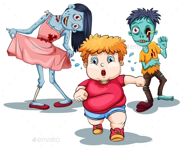 Zombies - Monsters Characters