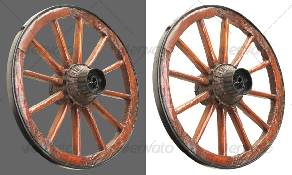 Cart Wheel 2 - Miscellaneous Isolated Objects