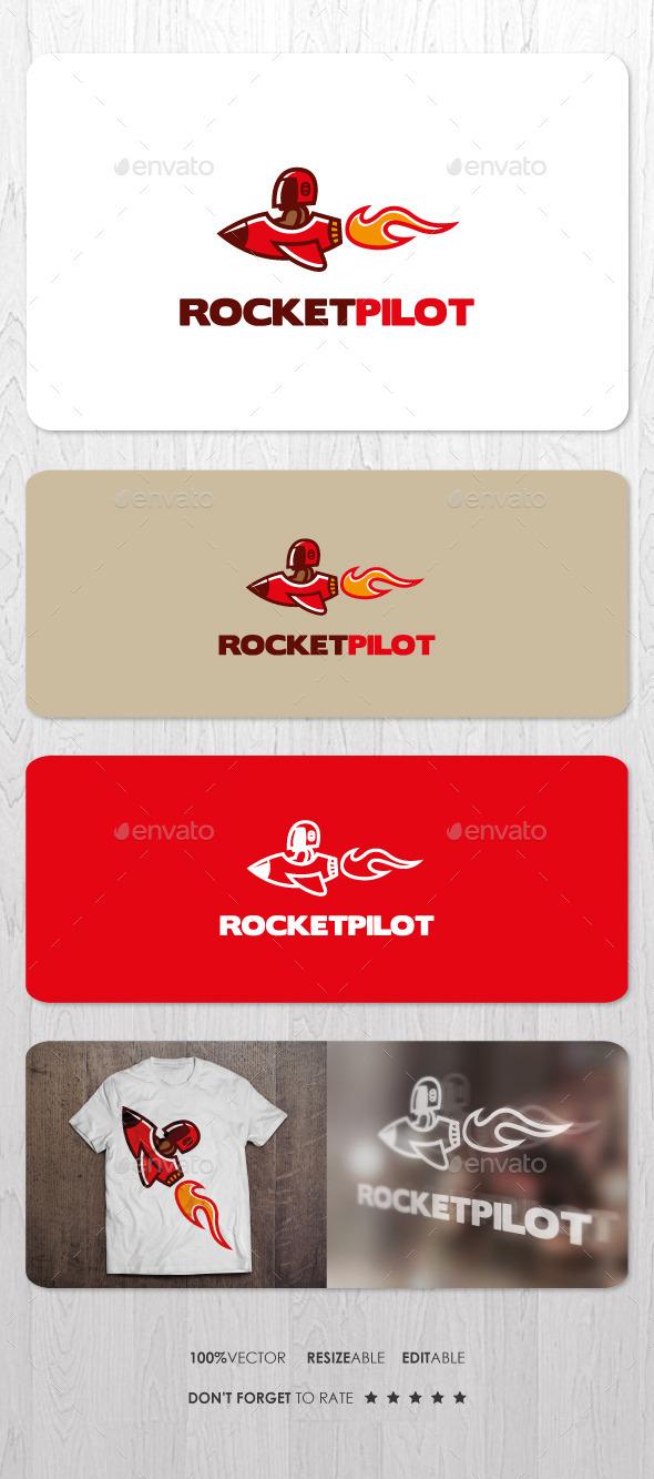 Rocket Pilot Logo - Objects Logo Templates