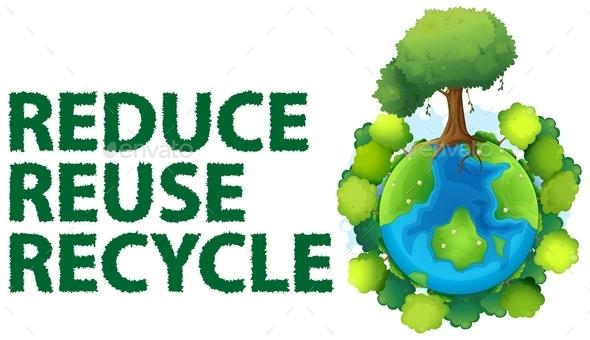 Recycle - Decorative Symbols Decorative
