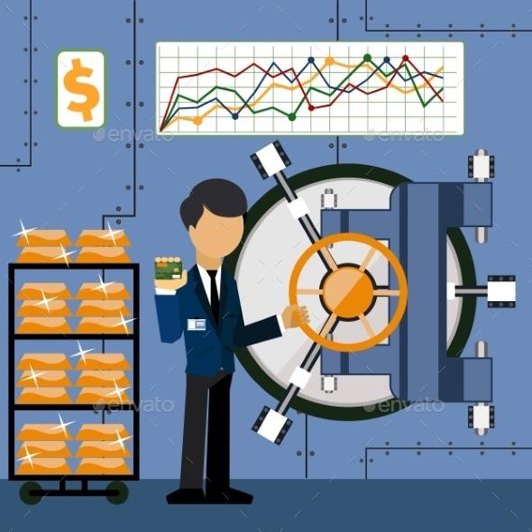 Bank Vault - Concepts Business