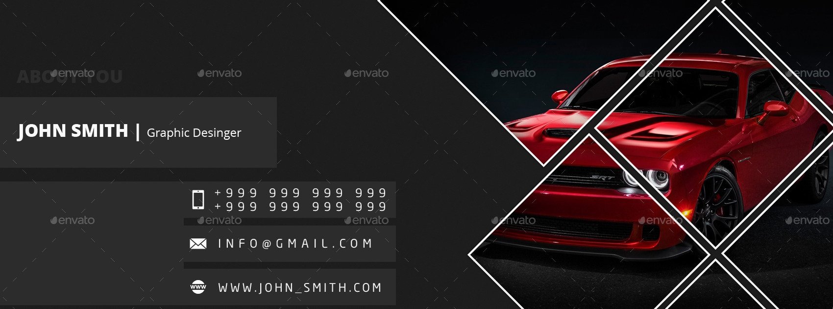 01 Style Light And Dark Facebook Cover Templates By Hythamalsha3r