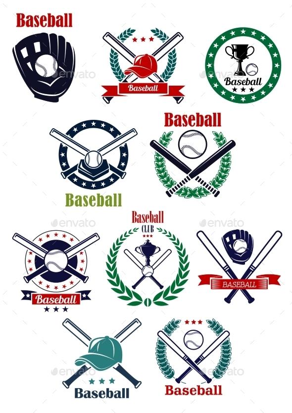Baseball Emblems  - Sports/Activity Conceptual