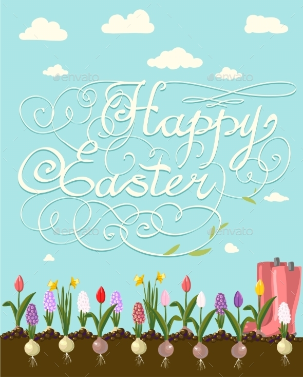 Happy Easter  - Seasons/Holidays Conceptual