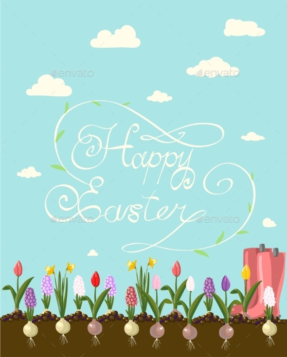 Happy Easter - Miscellaneous Seasons/Holidays