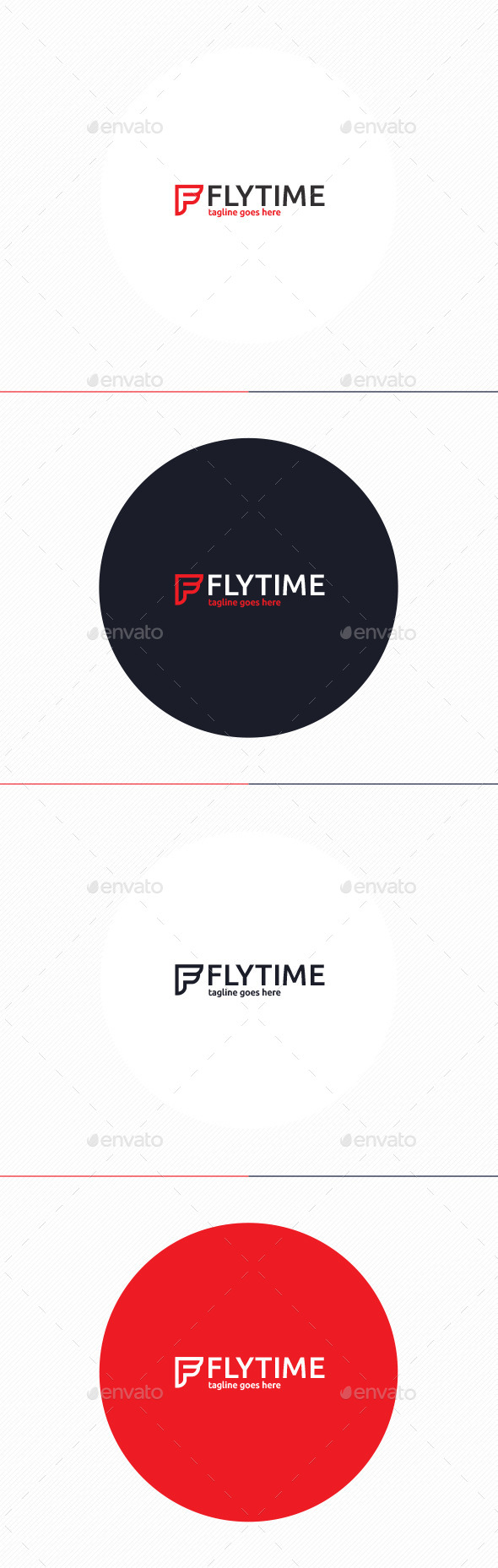 Fly Time Logo • Letter F - Letters Logo Templates