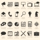 Vector Set of Advertising Icons - GraphicRiver Item for Sale