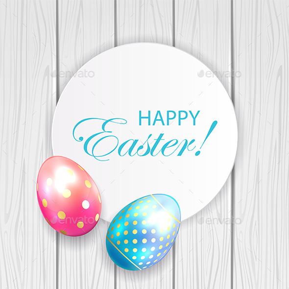 Easter Card - Backgrounds Decorative
