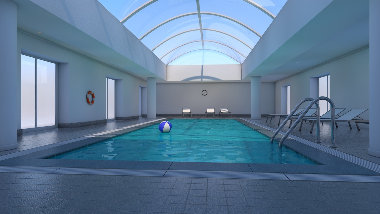 Indoor swimming pool by 3dtreatment 3docean Indoor swimming pool pictures