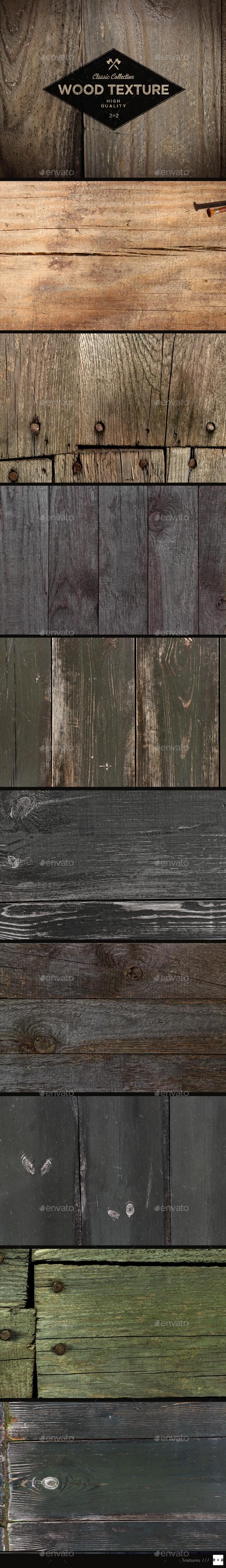 10 Old Wood Textures - Wood Textures