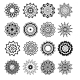 Ornament Round Set with Mandalas - GraphicRiver Item for Sale