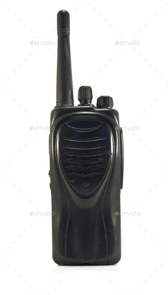walkie-talkie - Stock Photo - Images