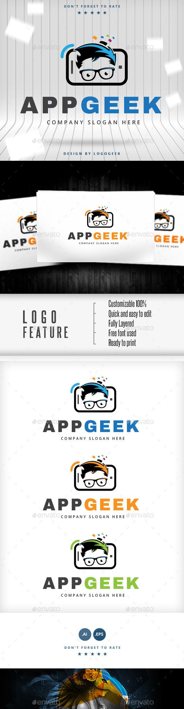 App Geek Logo - Logo Templates