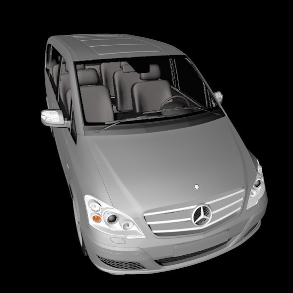 Mercedes Benz Viano - 3DOcean Item for Sale