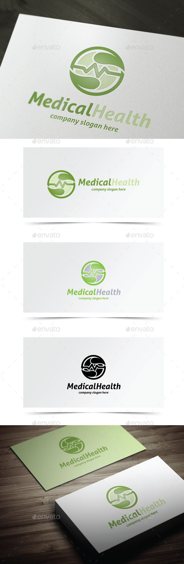 Medical Health - Objects Logo Templates