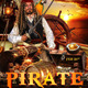 Pirate Costume Party Flyer Template - GraphicRiver Item for Sale