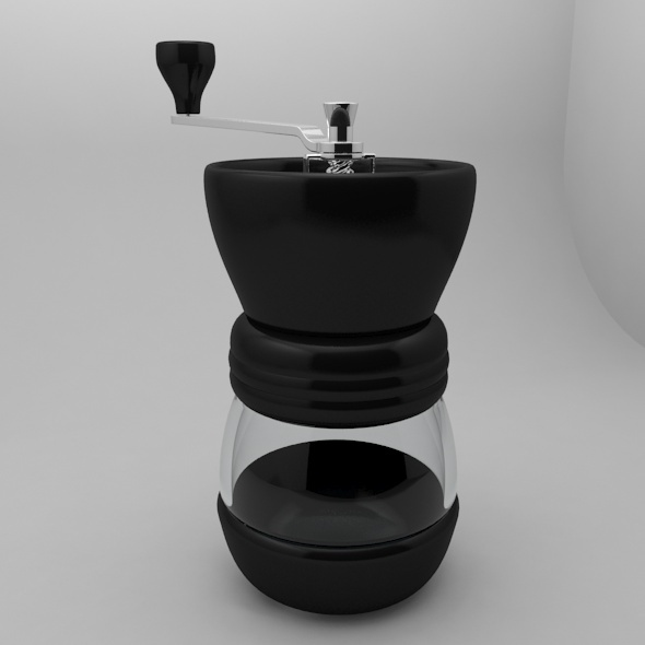 Glass Coffee Grinder - 3DOcean Item for Sale
