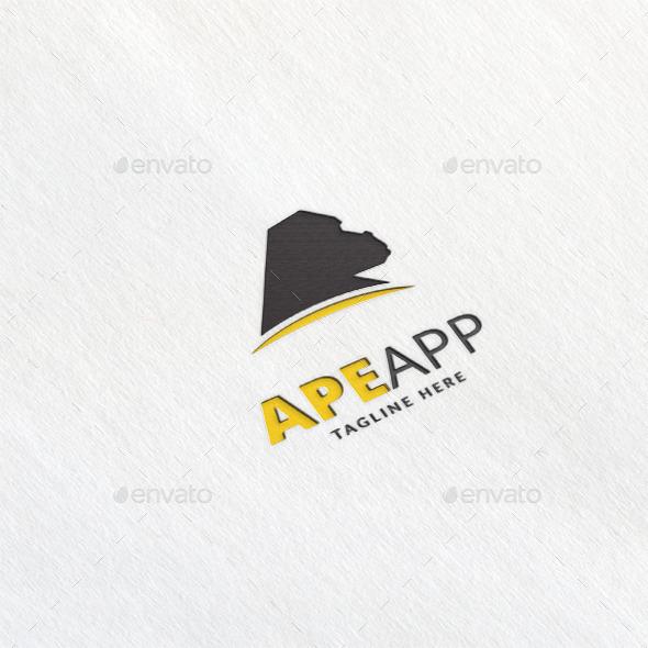 Ape App Logo Template