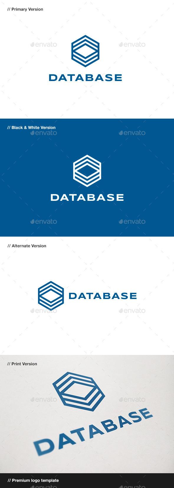 Database Logo - Symbols Logo Templates