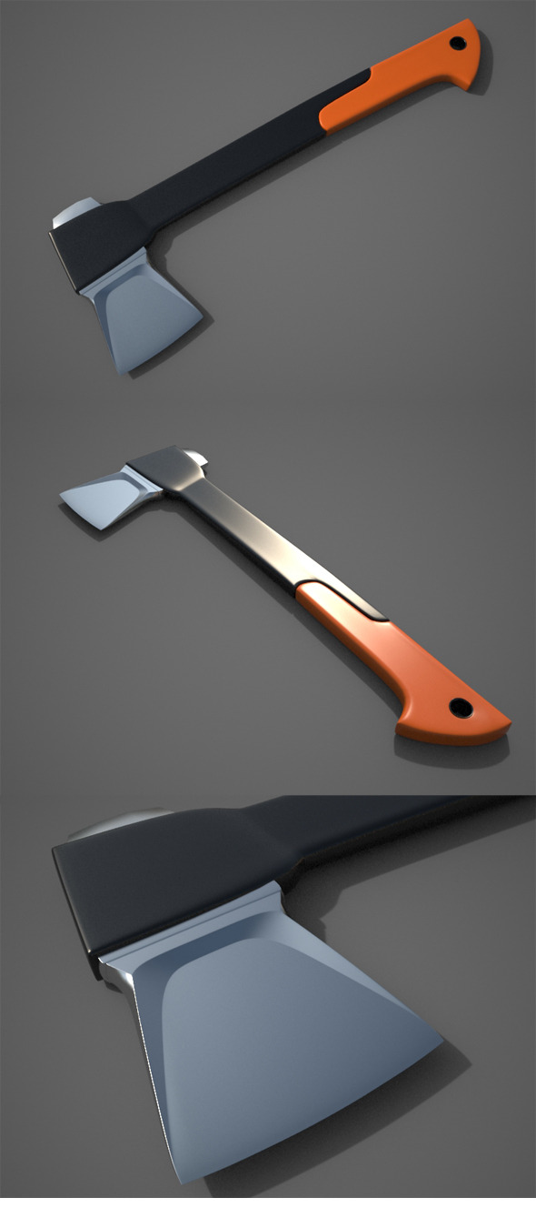 Splitting Axe - 3DOcean Item for Sale