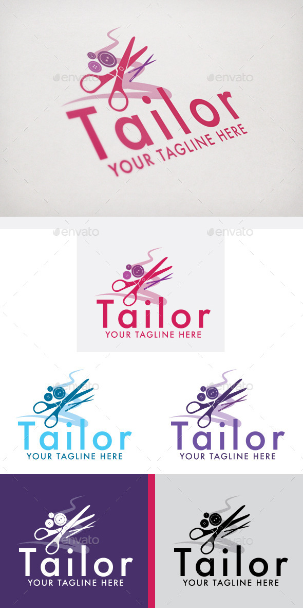Tailor - Objects Logo Templates