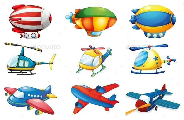 Planes and Balloons - Miscellaneous Conceptual