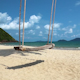 Swing On The Shore Of A Beautiful Island - VideoHive Item for Sale