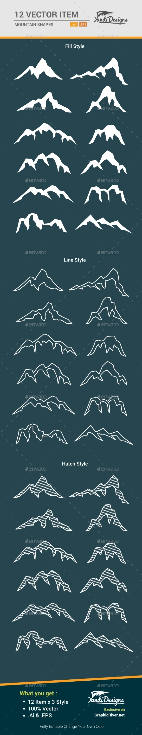 Mountain Shape - Nature Conceptual