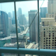 View From Glass Elevator Looking Out On Dubai, United Arab Emirates - VideoHive Item for Sale
