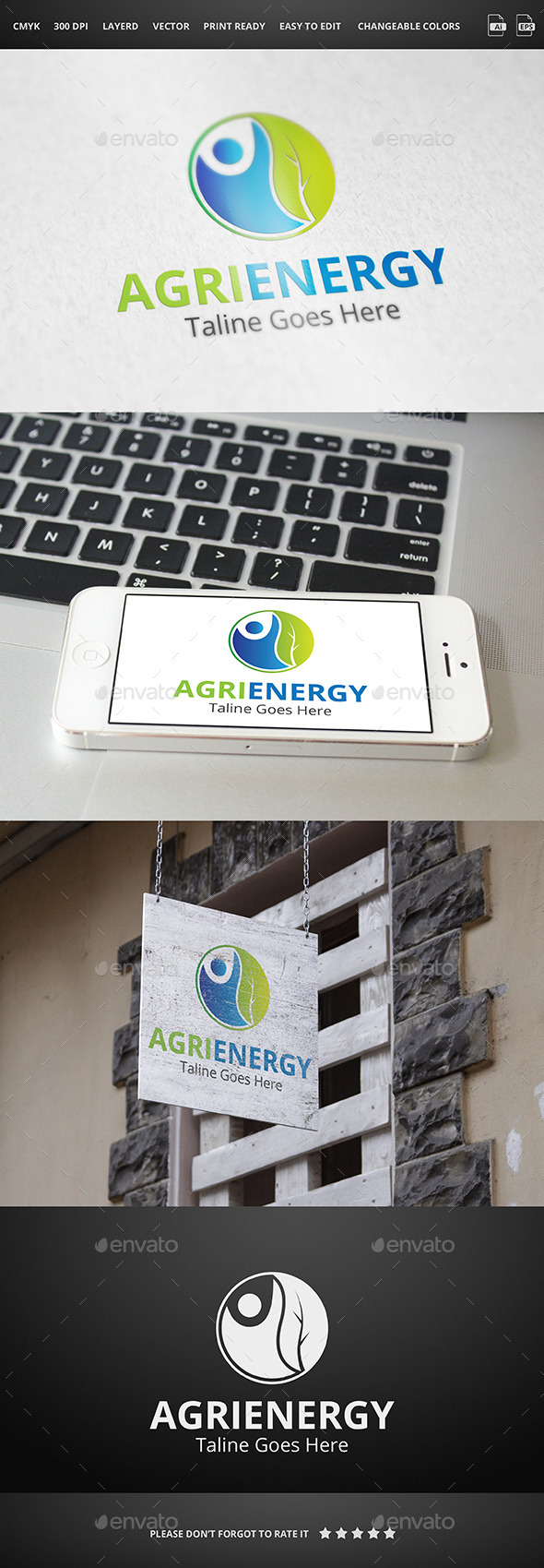 Agri Energy - Logo Templates