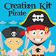 Pirate Creation Kit - GraphicRiver Item for Sale