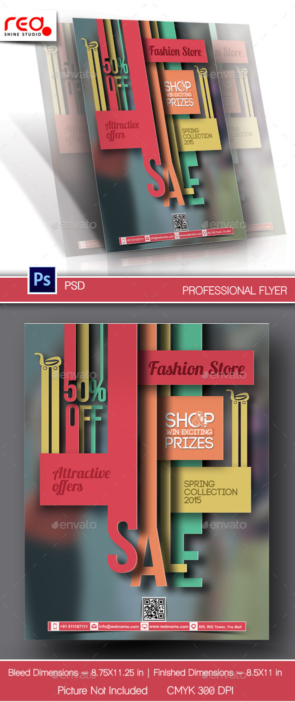 Promotion Flyer & Poster Template - Miscellaneous Events
