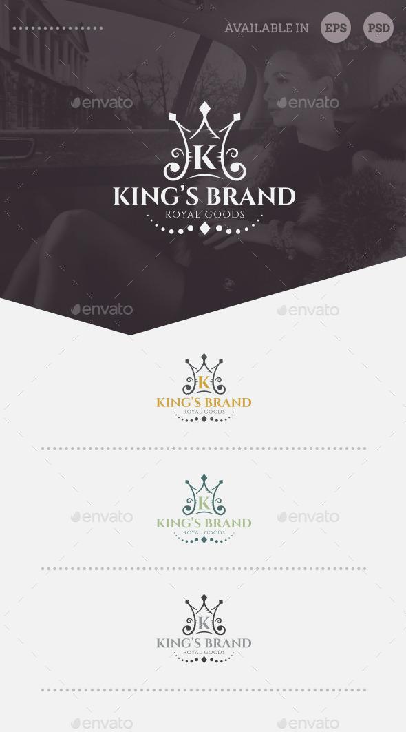 King's Brand Logo Template - Symbols Logo Templates
