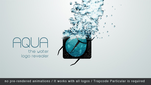 Aqua - The Water Logo Revealer