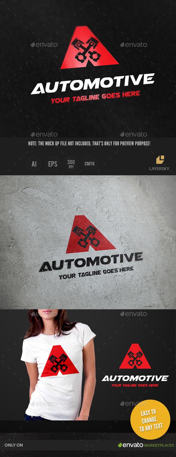 Automotive - Letters Logo Templates