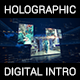 Digital Holographic Intro - VideoHive Item for Sale