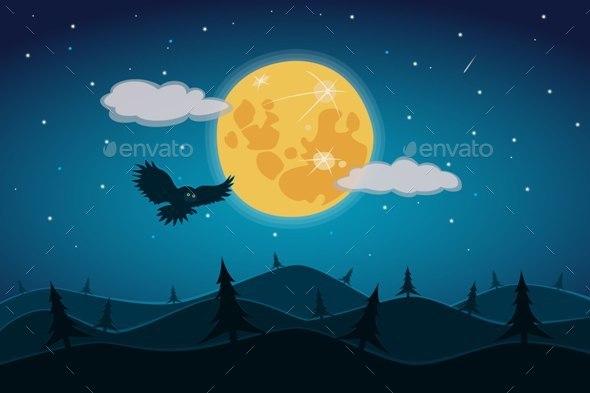 Full Moon - Landscapes Nature