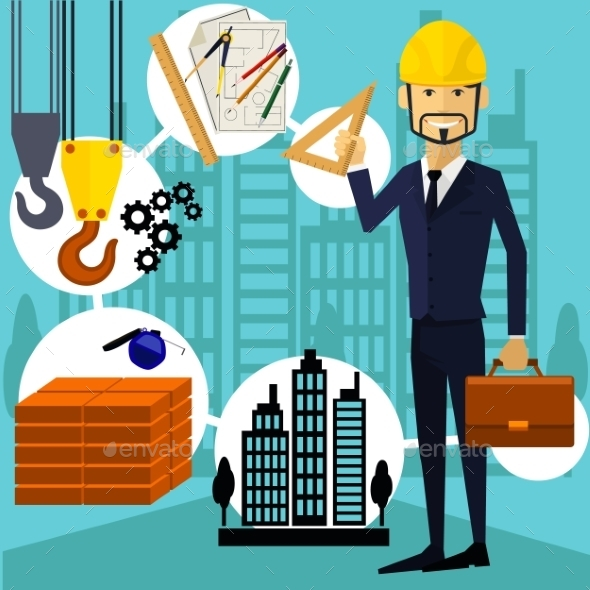 Constructor Worker - Industries Business