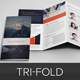 Corporate Finance Trifold Brochure InDesign - GraphicRiver Item for Sale