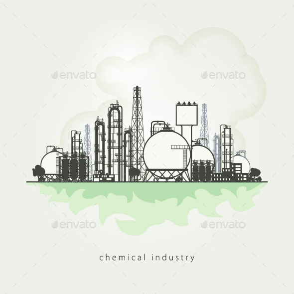 Chemical Plant  - Industries Business