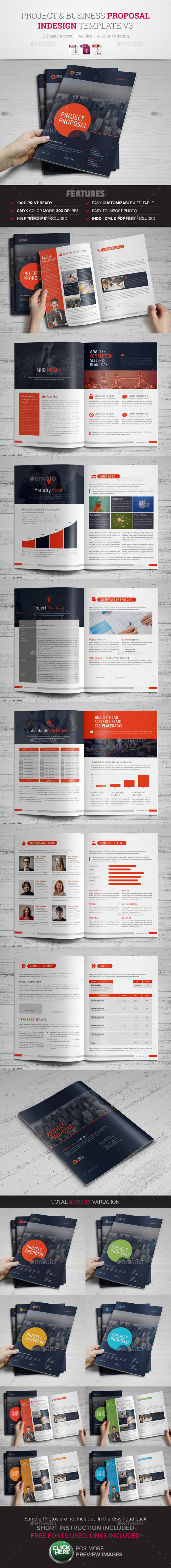 Project business proposal v3 by jbn comilla graphicriver project business proposal v3 proposals invoices stationery accmission Image collections