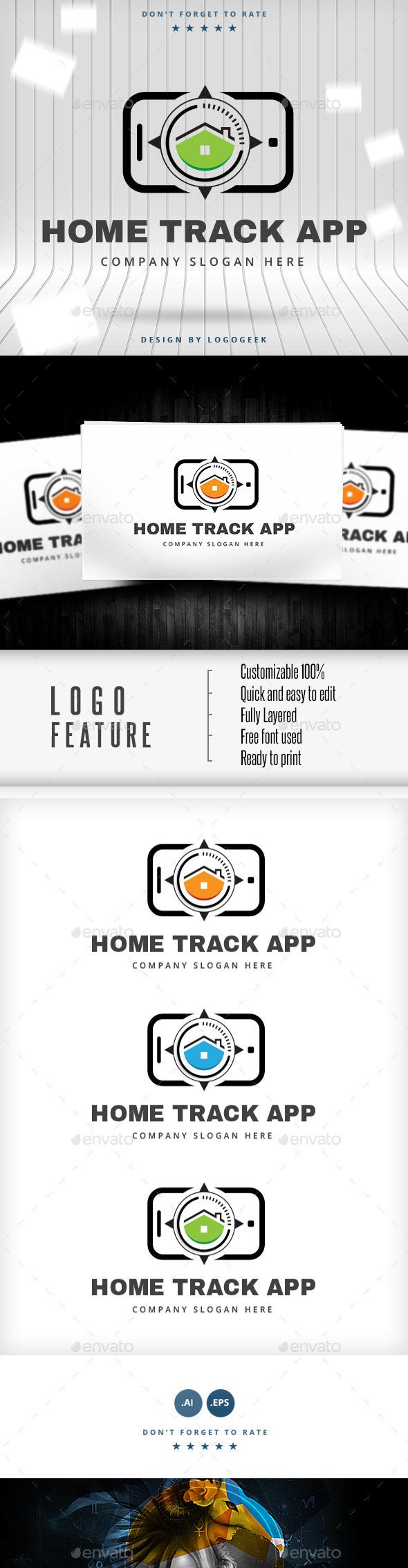 Home Track Logo - Logo Templates