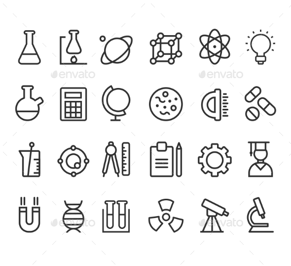 Science Icons - Health/Medicine Conceptual