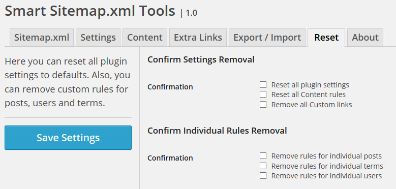 smart sitemap xml tools by gdragon codecanyon